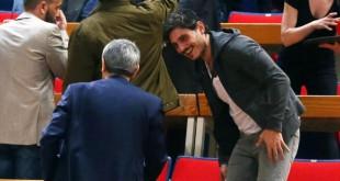 Στα αποδυτήρια ο Γιαννακόπουλος