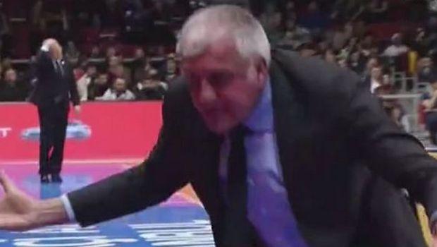 Ξέσπασε και έγινε... μελιτζανί ο Ομπράντοβιτς! (video)