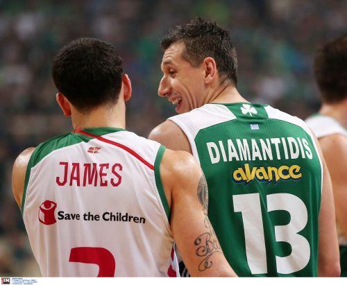 Τι έλεγε ο Διαμαντίδης στον Τζέιμς στον πάγκο, κάνοντάς τον να ξεκαρδιστεί;