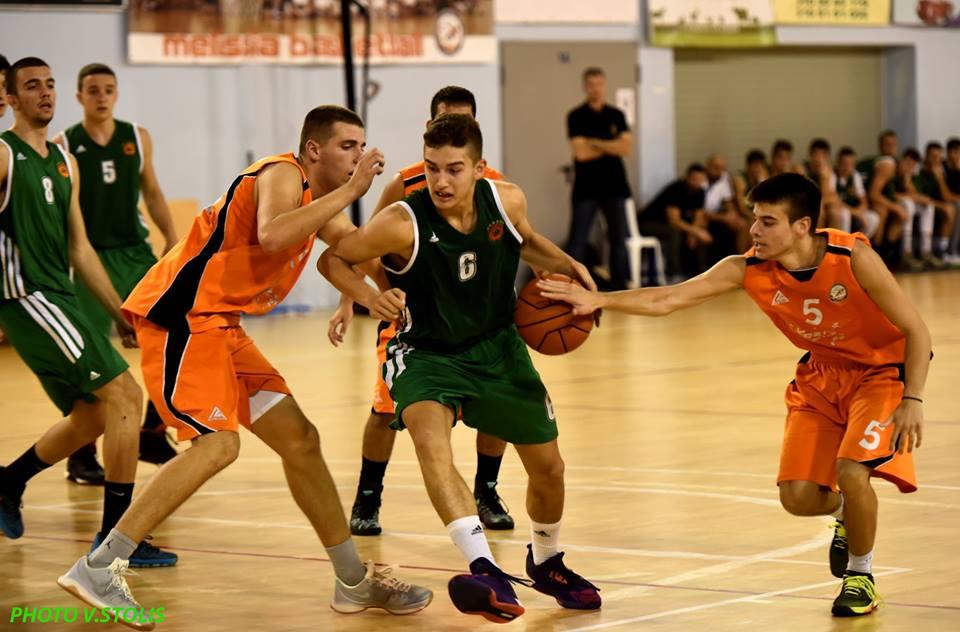 Μόνο νίκες οι ακαδημίες μπάσκετ (vid)