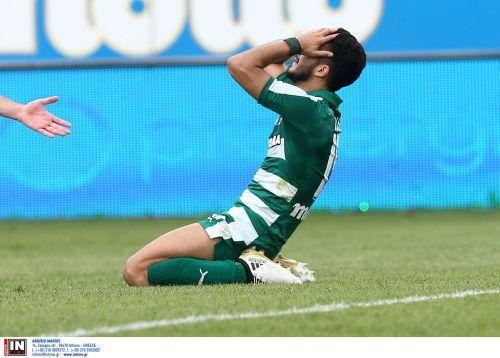 Απογοητευμένοι οι παίκτες του Παναθηναϊκού (pics)