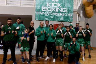 Τεξανού Παναθηναϊκός kick boxing