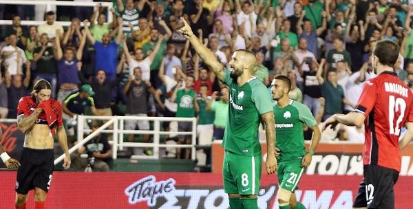 Παναθηναϊκός - Γκαμπάλα 1-0 (ΤΟ ΓΚΟΛ- VIDEO)