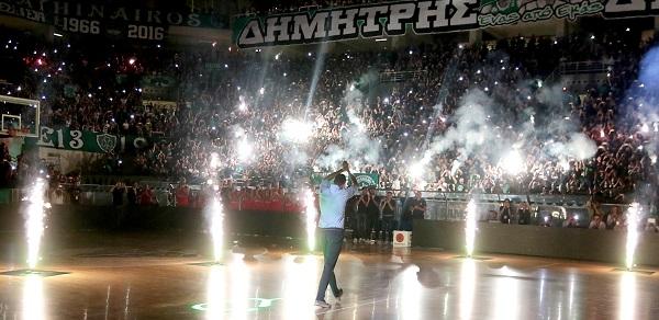 Διαμαντίδης: «Το ευχαριστώ δεν αρκεί να ανταποδώσω την αγάπη του κόσμου»