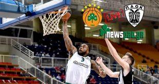 ΠΑΝΑΘΗΝΑΪΚΟΣ - ΠΑΟΚ   basket  Panathinaikos-Paok  live streaming