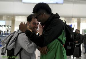 """Η αναχώρηση του Παναθηναϊκού για Μαδρίτη σε """"κλικς"""" - Με... ταπεράκι ο Πέιν! (pics)"""