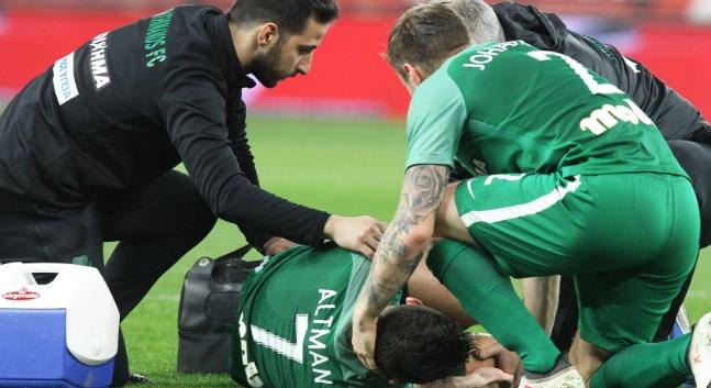 """Τι έλεγε ο Άλτμαν μετά τον τραυματισμό του - Τα """"καρφιά"""" για τον διαιτητή"""