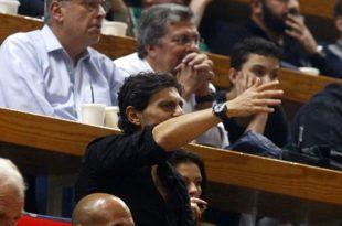 Οι αντιδράσεις του Δ. Γιαννακόπουλου στο ΟΑΚΑ (pics)