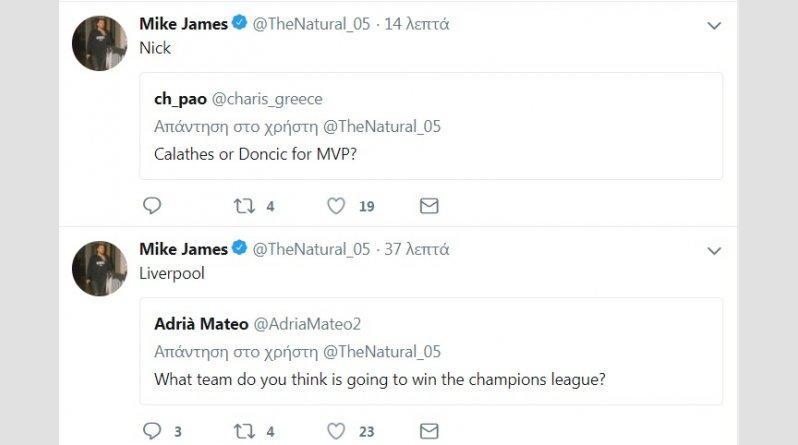 Ξεκάθαρος ο Τζέιμς για Καλάθη και... Champions League (pic)