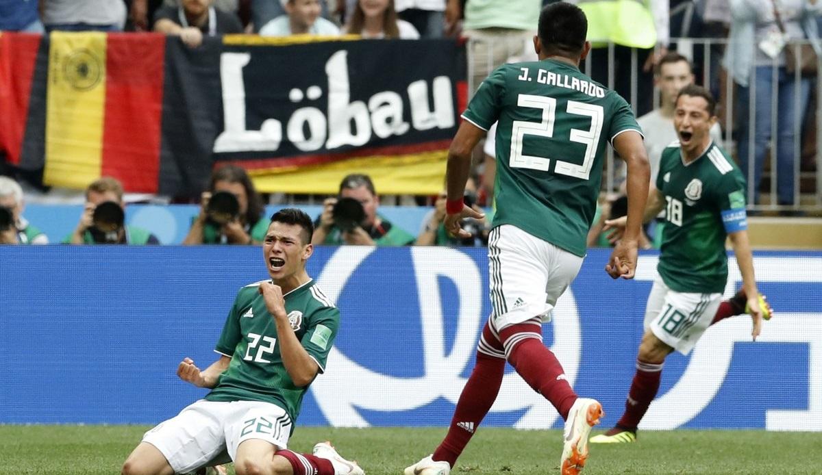Σόκαρε την Γερμανία το τρομερό Μεξικό! (vid)