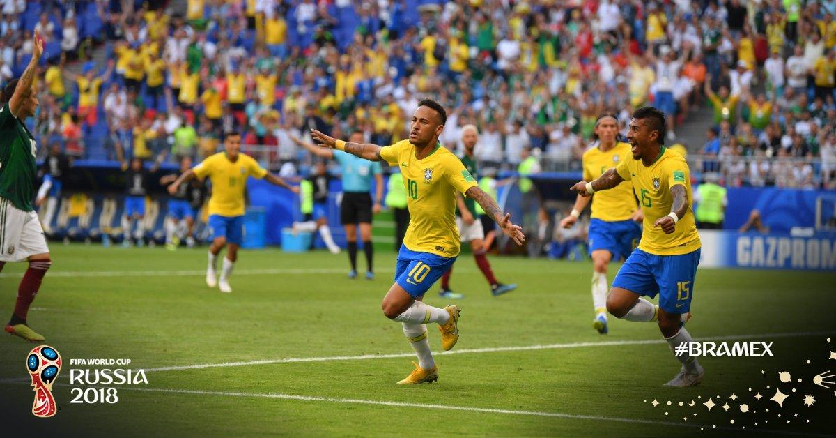 """Οδήγησε τη Βραζιλία στους """"8"""" ο Νεϊμάρ! (vids)"""