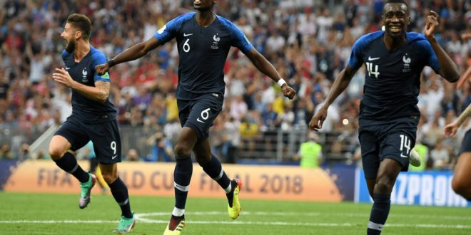 """Άξια Παγκόσμια Πρωταθλήτρια η Γαλλία που """"πάτησε"""" την Κροατία! (vids)"""