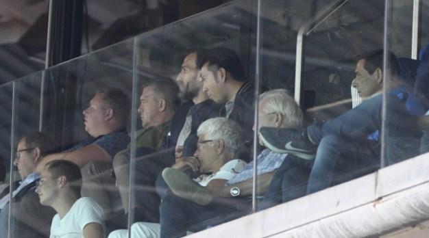 Είδαν μαζί το ματς Νταμπίζας - Πιεμπονγκσάντ (pics)
