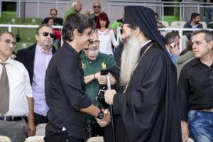 Με Γιαννακόπουλο και Ιερώνυμο ο αγιασμός ΚΑΕ & Ερασιτέχνη (pics)