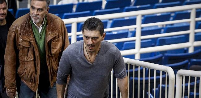 Τα είπαν Γιαννακόπουλος και Μάικ Τζέιμς (vid + pics)