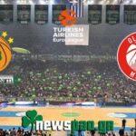 Παναθηναϊκός - Αρμάνι Μιλάνο Live Streaming (Euroleague 2019-2020)