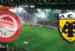 Ολυμπιακός - ΑΕΚ Live Streaming: Olympiakos - AEK LIVE | FREE LINKS