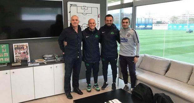 Στο Camp Nou και τη La Masia προπονητές του Παναθηναϊκού