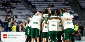 Αποθέωση στην ομάδα και αποδοκιμασίες προς τους διαιτητές στη Μαδρίτη από τον κόσμο του Παναθηναϊκού
