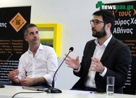 Μπακογιάννης και Ηλιόπουλος συμφώνησαν στο... debate για το Βοτανικό!