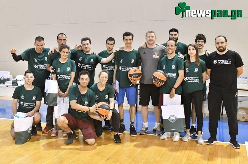Ο Παναθηναϊκός ΟΠΑΠ στο «One Team» - Basketball is Everywhere