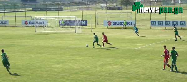 Διαιτητής δεν μέτρησε απίθανο γκολ της Κ-17 του Παναθηναϊκού στο Puskas Kupa (vid)