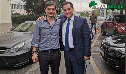 Α. Γεωργιάδης: «Είμαι υπέρ του γηπέδου του Παναθηναϊκού μας»