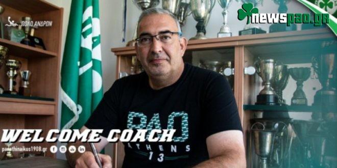 Ο Βενετόπουλος νέος προπονητής του τμήματος πόλο του Παναθηναϊκού