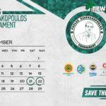 ΕΠΙΣΗΜΟ: Το κανάλι που θα δείξει το τουρνουά «Παύλος Γιαννακόπουλος»
