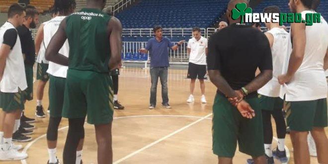Στο ΟΑΚΑ ο Γιαννακόπουλος - Μίλησε στους παίκτες