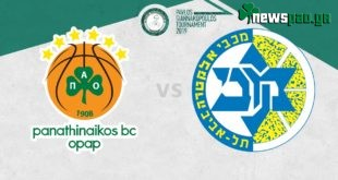 Παναθηναϊκός - Μακάμπι Τελ Αβίβ Live Streaming