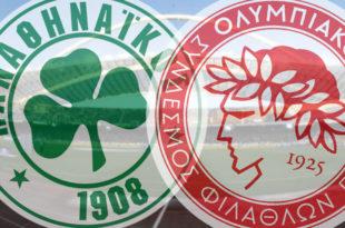 Panathinaikos - Olympiakos Live Streaming: Ζωντανή μετάδοση | Πλέι οφ 5-7-2020