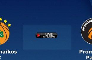 Παναθηναϊκός - Προμηθέας Live Streaming