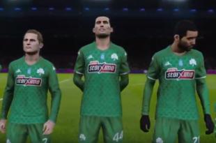 Pro Evolution Soccer 2020: «Πρώτη γεύση» από Παναθηναϊκό (pics)