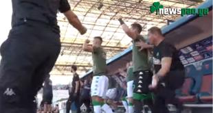 Ο έξαλλος πανηγυρισμός στο γκολ του Ζαχίντ - Όρθιος και ο Χατζηγιοβάνης (video)