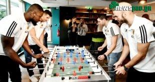 «Μάχη» στο ποδοσφαιράκι (pic)