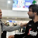 Συνάντηση με Τζόρτζεβιτς και Τεόντοσιτς στο αεροδρόμιο (pics)