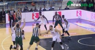ΠΑΟΚ - Παναθηναϊκός 88-104 (Highlights/vid)