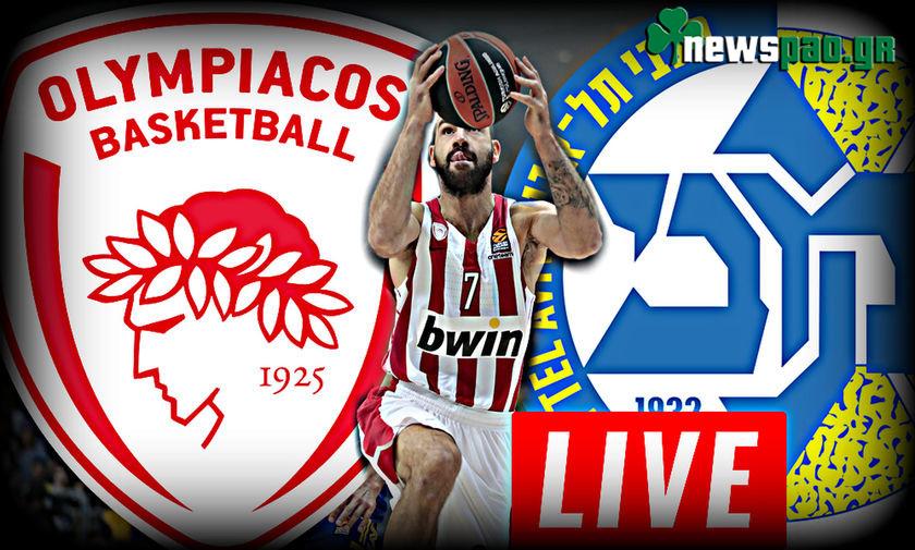 Ολυμπιακός - Μακάμπι Live Streaming