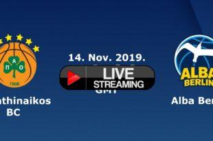 Παναθηναϊκός - Άλμπα Βερολίνου Live Streaming