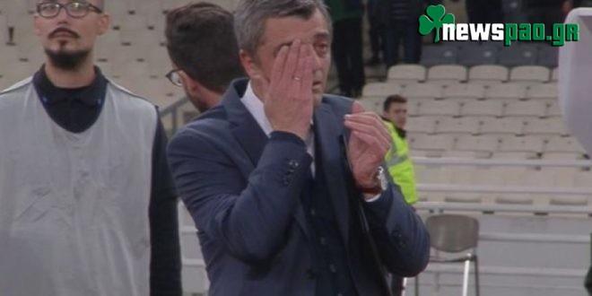 Ξέσπασε σε δάκρυα ο Παπαβασιλείου για τη νίκη επί της ΑΕΚ