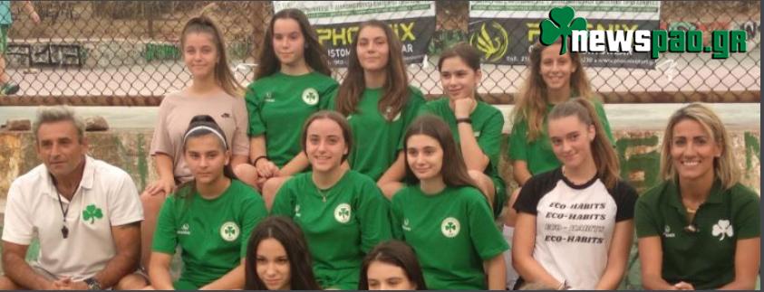 Ο ερασιτέχνης Παναθηναϊκός δημιούργησε ομάδα Futsal γυναικών