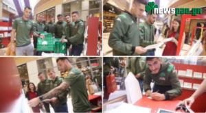 Μοίρασαν χαρά οι ποδοσφαιριστές του Παναθηναϊκού