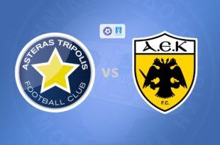 Αστέρας Τρίπολης - ΑΕΚ Live Streaming για το Κύπελλο (Asteras - AEk)