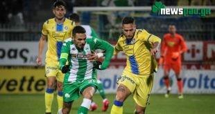 Αστέρας Τρίπολης - Παναθηναϊκός: 1-1 (Highlights/vid)