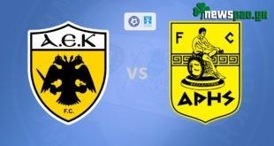ΑΕΚ - Αρης Live Streaming Ζωντανά | Κύπελλο 4-3-2020