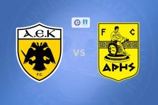 ΑΕΚ - Αρης Live Streaming Ζωντανά   Κύπελλο 4-3-2020