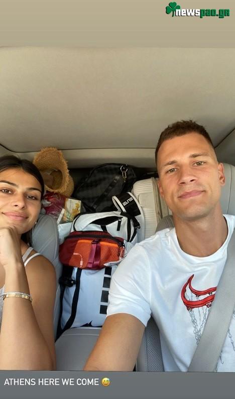 Νέντοβιτς: «Αθήνα ερχόμαστε»