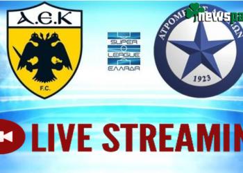 ΑΕΚ - Ατρόμητος Live Streaming: Ζωντανά το φιλικό | AEK - Atromitos