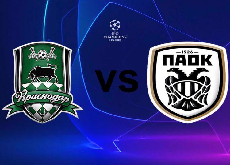 Κρασνοντάρ - ΠΑΟΚ Live Streaming: Krasnodar - PAOK   Κανάλι